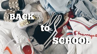 back to school clothing haul!