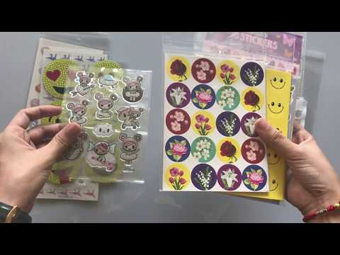 Epoxy Stickers、Scented Stickers、Metal Stickers、Bubble Stickers、PVC Stickers、Rhinestone Stickers)