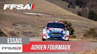 Les essais d'Adrien Fourmaux avant le Rallye Monte-Carlo
