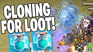 CLONING LOONS AND GRABBING LOOT! - Fix That Rush - Clash of Clans