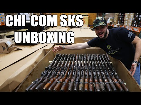 New Shipment of Vietnam War Era Chinese SKS Rifles