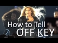 How to tell when Singers are OFF KEY (Live Vocal Fails)