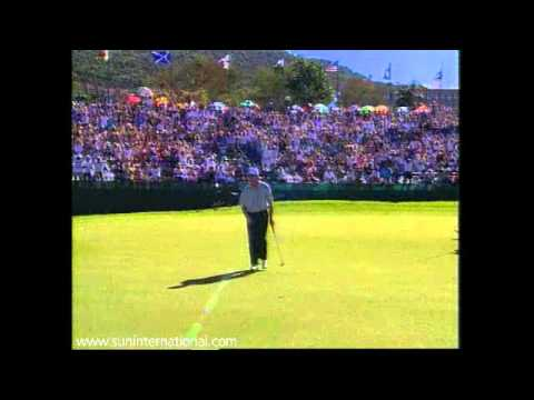 Winner, 1996, Colin Montgomerie   Nedbank Golf Challenge