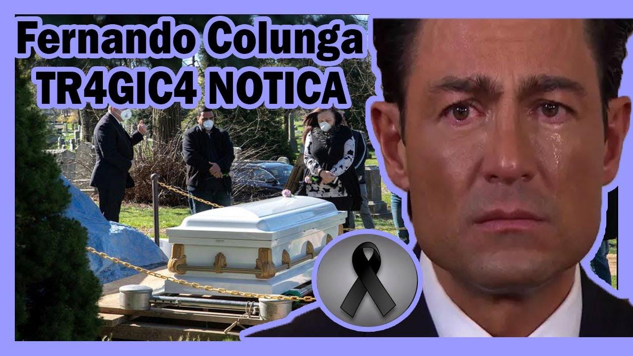 ¡ ATENCION ULTIMA HORA ! Familia Fernando Colunga se viste de LUT0 hoy 2020