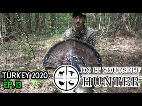 2020 Typical Public Land Turkey Hunt in Mississippi - Hard Bird to Kill!