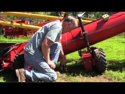 Back Saver 2 on Westfield MK 130 swing hopper - Action News