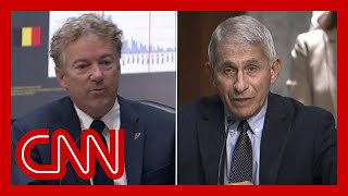 Sen. Rand Paul challenges Dr. Fauci. Watch his response.