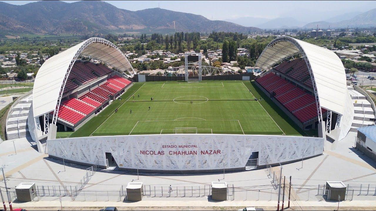Resultado de imagem para Estadio Municipal Nicolás Chahuán Nazar