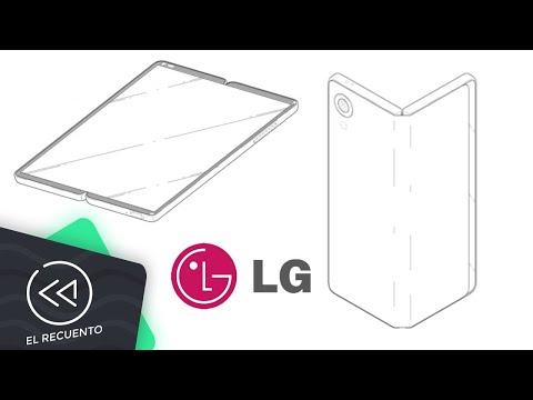 LG patenta un smartphone plegable | El recuento