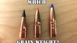 Why do bullets weights matter, and what is the best option for you?