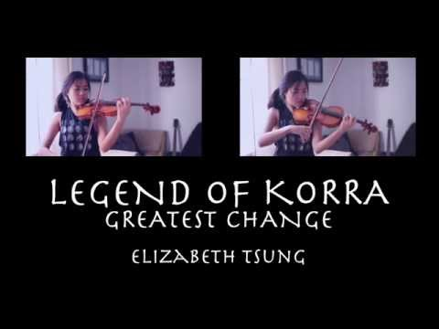 Legend of Korra Avatar State Theme (Violin Cover) II - Elizabeth Tsung