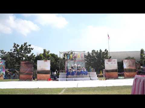 งานแข่งขันกีฬาสีสัมพันธ์ ครั้งที่ 7 ศรีวัฒนาบริหารธุรกิจ สีน้ำเงิน-บ่าย (อันดับ 1 ผู้นำเชียร์)
