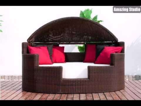 Elegant Loungemöbel Draußen