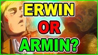 Armin or Erwin? Levi  Vs Beast Titan Conclusion   Attack on Titan Season 3 Part 2 Episode 6