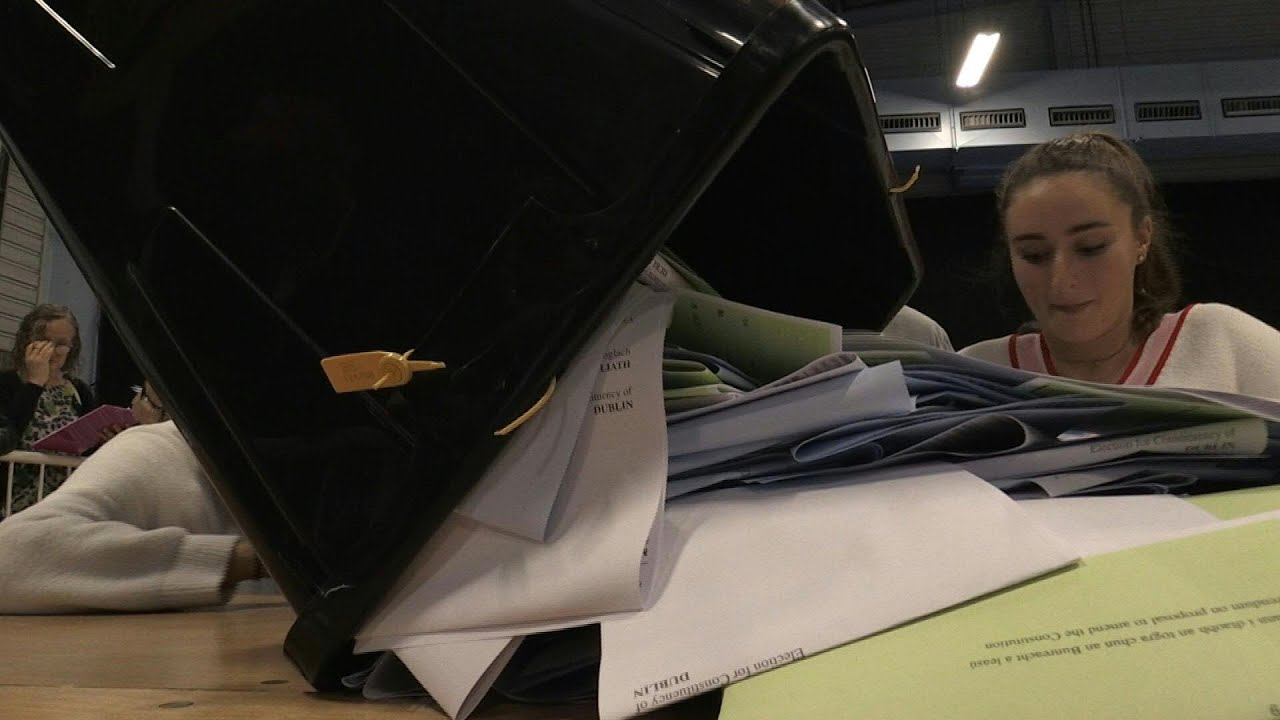 Counting for divorce law referendum begins in Ireland