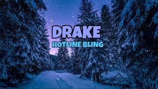 DRAKE - HOTLINE BLING ( ÁUDIO 8D)