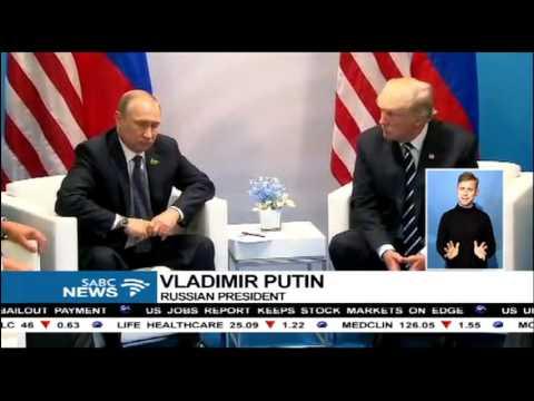 Trump, Putin meet on the sidelines of G20 summit