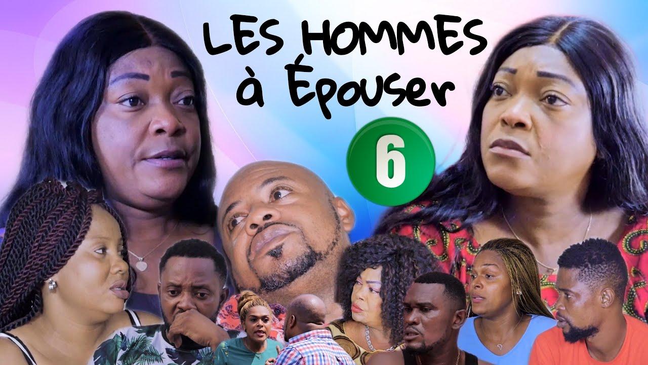 Download LES HOMMES À ÉPOUSER Ep6   Film Congolais   Sila Bisalu Omar Ebakata Alain Lina Guecho Decor Theres.