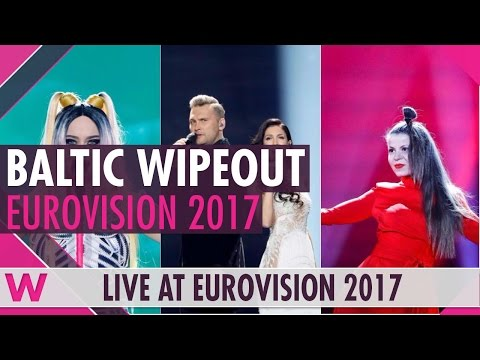 Eurovision 2017: Baltic Countries Estonia, Latvia, Lithuania eliminated (Reaction)