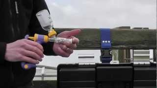 Sheep injections with Sterimatic System for safer cleaner injections