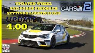 Project CARS 2 UPDATE 4.00 | Force Feedback/Settings Updated | Logitech G29