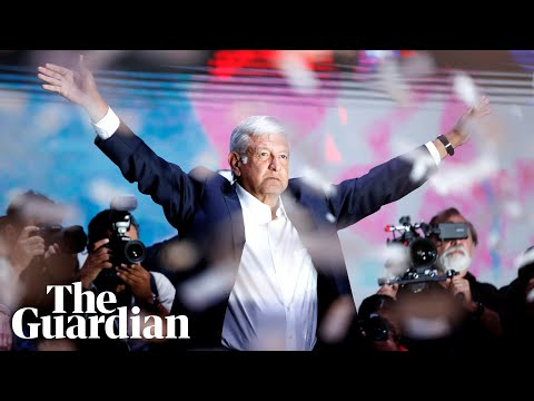 Amlo claims historic win in Mexico election: 'I will not fail you'