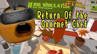 Annoying Orange Plays - Job Simulator #4: RETURN OF GOURMET CHEF!