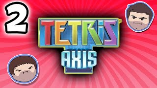 Tetris Axis: The Birth of Sad Robot - PART 2 - Grumpcade