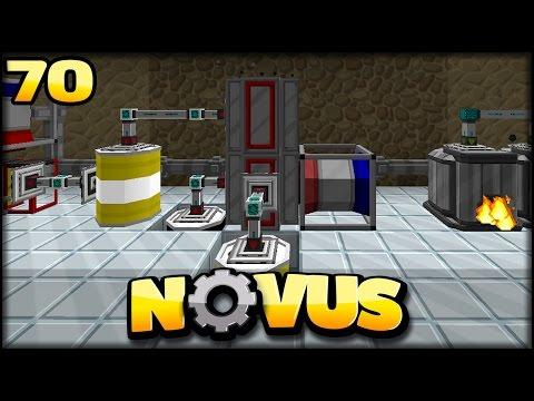 BESSERE Optimierte Refinery | Minecraft NOVUS #70 | Minecraft Modpack