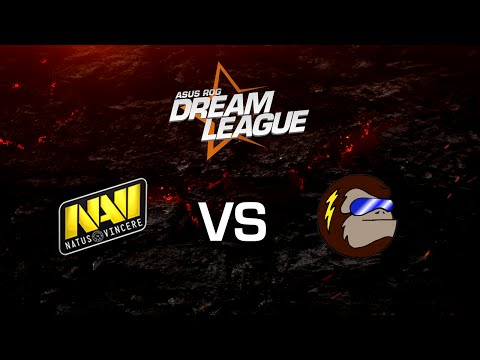 Na'Vi vs. Monkey Business - Game 1 - Frankfurt Major Main Qualifier - ASUS ROG DreamLeague
