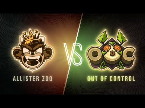 #DWS - Journée 3 : ALLISTER ZOO vs. OUT OF CONTROL