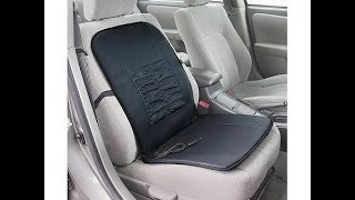 Heated car seat cushion review   BEST GIFT EVER