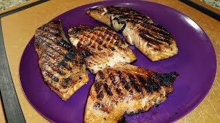Grilled Sweet Soy Salmon