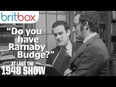 John Cleese's Favourite Sketch: The Bookshop | At Last The 1948 Show
