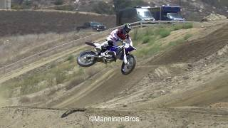 Raw motocross with Shane McElrath and Ryan Villopoto (on a YZ125)