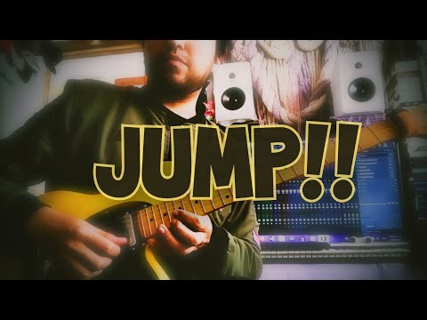 Jump Van Halen Guitar Synth Solo Youtube