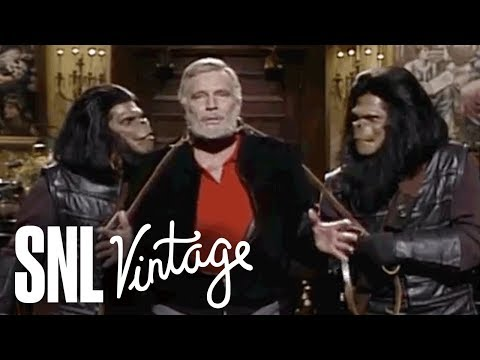 Monologue: Charlton Heston is Captured by Apes  SNL