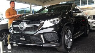 2018 Mercedes GLE Coupe FULL Review GLE 350d 4MATIC AMG Interior Exterior