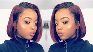 Download GRWM Hair Edition: Natural Sleek Bob || MYFIRSTWIG Hype or NAH? Mp3 and Videos