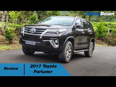 2017 Toyota Fortuner Review | MotorBeam