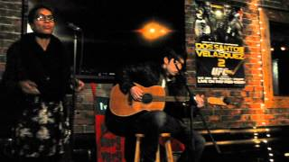 Gosuke Omori and Karine Zamor, Improv Blues jam.AVI