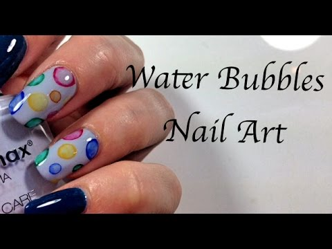 Water bubbles nail art con acquerelli mikeligna youtube prinsesfo Image collections