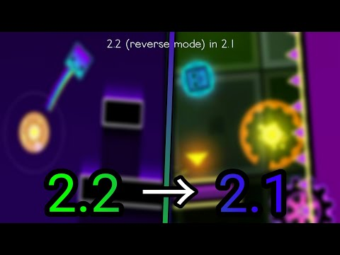 2.2 REVERS MODE IN 2.1 :0 | Geometry Dash : future vision - helito6x3 # Fan made of 2.2
