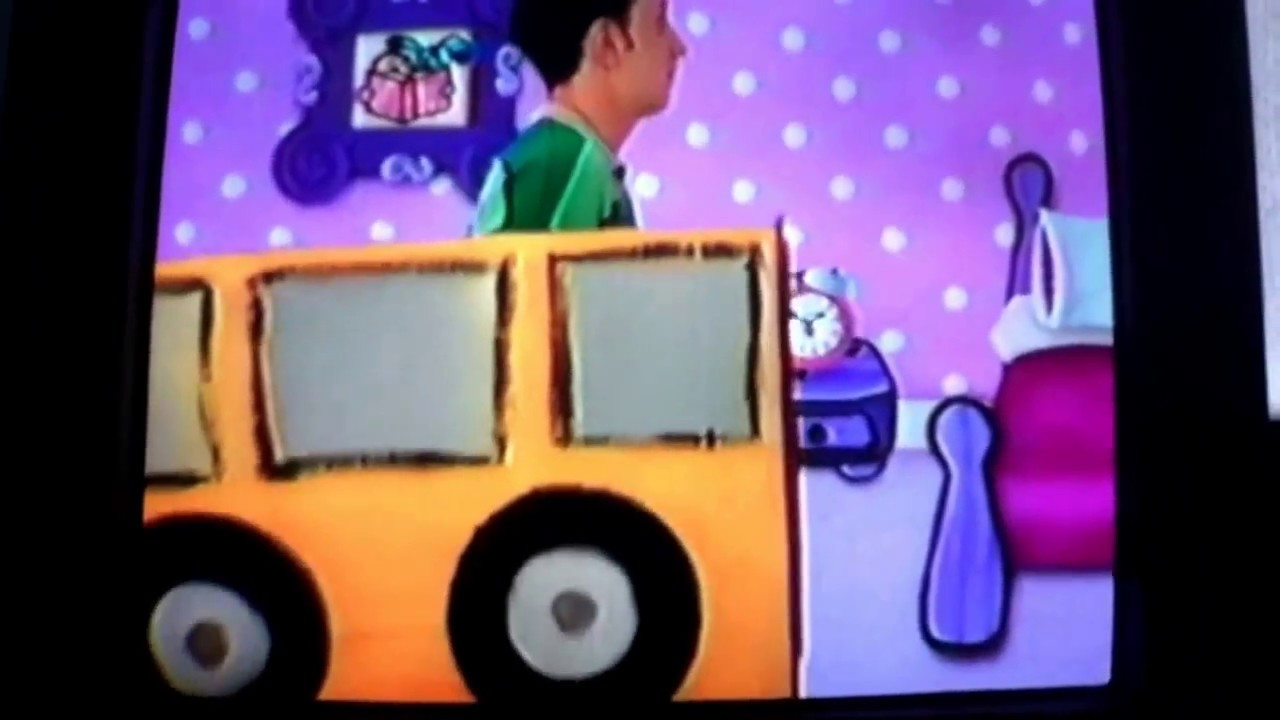 Blue S Clues Bus Song Youtube