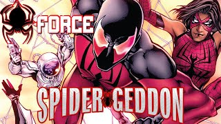 Spider-Geddon Tie-In: Spider-Force Parte 1: Scarlet Spider