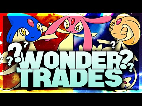 'SHINY WONDER TRADES' - SHINY AZELF, UXIE & MESPRIT! Pokemon ORAS LIVE STREAM! w/JasonPlaysPokemon