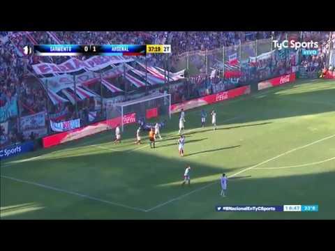 ¡NO SE PUEDE CREER! El gol que erró Penco en Sarmiento - Arsenal
