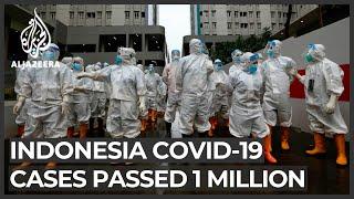 Indonesia Surpasses One Million COVID-19 Cases