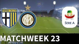 Parma Vs Inter Milan - Stadio Ennio Tardini - 2018-19 Serie A - Pes 2019