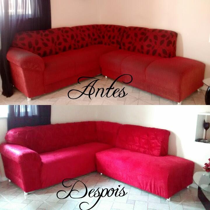 Reformando meu Sofá e Ficou de cara Nova - DIY - YouTube
